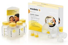 Medela presents an exclusive range of breastfeeding accessories that are a perfect complement to your breastfeeding experience. All the accessories are easy to clean, microwave safe, durable in nature and made using materials that are safe for both the mothers and the babies. Explore the range today!