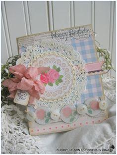 Happy birthday: My Little Shoebox and Epiphany Crafts...