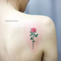 40+ Cute and Tiny Floral Tattoos for Women