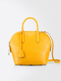 Borsa Ali Bag in pelle. I love this color for fall!