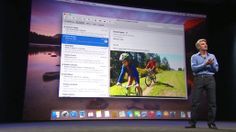 [PHOTOS] Take a Visual Tour of Yosemite (OS 10.10), Apple's New Mac OS; A lot like iOS 7 graphics; Details.