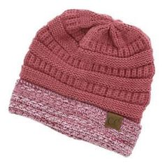C Boucle Cuff Knit Beanie Winter Hat Rose C.C Boucle Cuff Knit Beanie Winter Hat Rose. Super soft and a brand new style for this winter. Stay warm with this Two toned knit C.C Beanie in Rose C.C Accessories Hats Hat Stores, Knit Beanie Hat, Beanies, Winter Hats For Women, Dress Hats, Boutique, Sneakers Fashion, Fashion Hats, Fashion Dresses