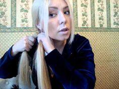 "Плетение косы ""Рыбий хвост"" - YouTube"