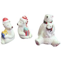 Set of 2 Polar Bear Salt & Pepper Shakers