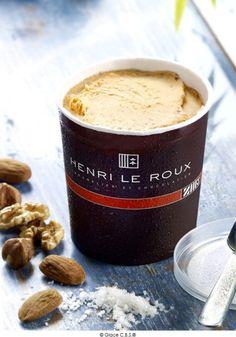 Eat de l'été 2014 : les #glaces et #sorbets de Toqués - #Paris #HenriLeRoux La Florentine, Dessert Packaging, Philz Coffee, Sorbets, French Pastries, Baking Ingredients, Toque, Cookie Dough, Coffee Cups