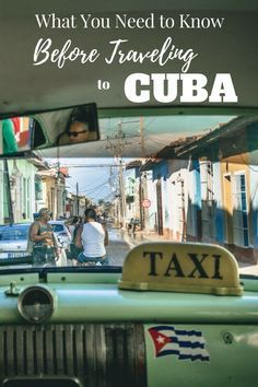 Cuba Travel Tips! After spending 3.5 weeks exploring Cuba we share our best tips…