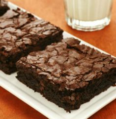 Low-Fat Zucchini Brownies   9 more new (and sneaky) ways to enjoy this summer staple!   via @SparkPeople #food #recipe #vegetable #healthy #nutrition