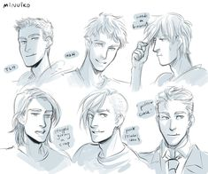 Different styles of Jason by Minuiko<--I started smiling at the proffessor Grace!!!:):)