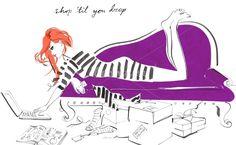 #Jacqueline Bissett, illustrator.
