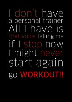 Motivational Quotes for Working Out - Dont give up .. Ever #weightloss