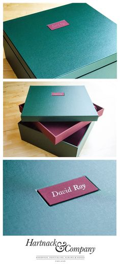 Gallery - Examples of Portfolios & Boxes Handmade for the Creative ...