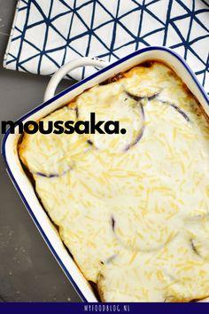 13 x recept met aubergine (van moussaka tot baba ganoush! Moussaka, Food Blogs, Food Videos, Greek Recipes, Italian Recipes, Quick Healthy Meals, Healthy Recipes, Good Food, Yummy Food