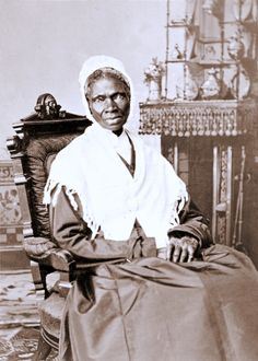 """Sojourner Truth (born Isabella Baumfree), American abolitionist & women's rights activist. Born into slavery, she escaped w/ her infant daughter to freedom, but had to leave her other children. After going to court to get her son, she became the 1st black woman to win such a case against a white man. She changed her name, stating """"The Spirit calls me, & I must go,"""" and left to travel & preach about the abolition of slavery. A known orator, her speeches include Aint I a Woman? & others…"""