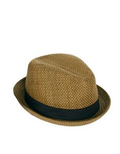 a7a134d2e4d Enlarge ASOS Straw Pork Pie Hat  man hats Man Hats