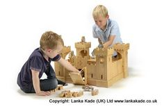 Limited stocks available - place your orders now for this fabulous natural wood castle - brilliant #Christmas present.