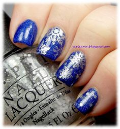 #aengland Spirit of The Moors stamped with Excalibur & QA86 and #opi Pirouette My Whistle