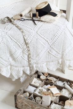 """This crocheting is from our feature """"Traces of Time"""""""