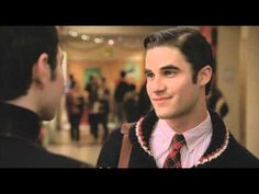 The Box scene(deleted from Glee). Who wouldn't want to marry Blaine?