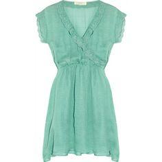 f742f0c569d201 Vanessa Bruno Athé Silk-crepe dress - Polyvore Crepe Dress