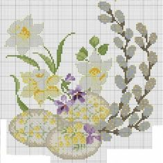 quilting like crazy Just Cross Stitch, Cross Stitch Flowers, Cross Stitch Charts, Cross Stitch Patterns, Hardanger Embroidery, Cross Stitch Embroidery, Lace Knitting Stitches, Easter Cross, Crochet Cross