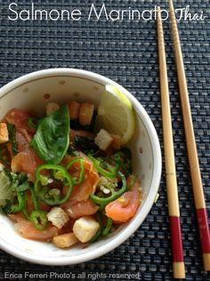 Salmone marinato thai