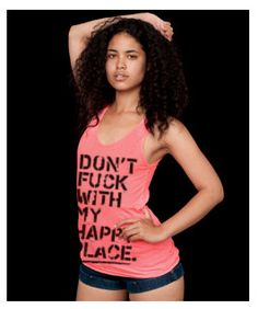 don't fuck with my happy place by coup. Rave Gear, Valley Girls, Small Cards, Neon Colors, My Happy Place, Unisex, Festival Essentials, My Style, Fitness