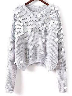 SHARE & Get it FREE | Sequined Chunky SweaterFor Fashion Lovers only:80,000+ Items • New Arrivals Daily Join Zaful: Get YOUR $50 NOW!