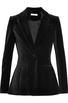 Altuzarra|Acacia cotton-velvet blazer|NET-A-PORTER.COM
