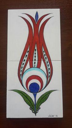 Karla Gerard, Turkish Tiles, Tile Art, Quilling, Landscape Paintings, Tulips, Ottoman, Beautiful Pictures, Applique