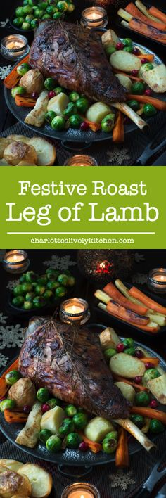 Festive Roast Leg of Lamb | Charlotte's Lively Kitchen