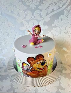 Masha and the bear - Cake by Frufi