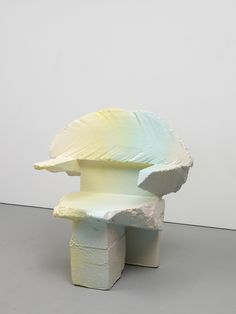 max lamb: expanded polystyrene (hot-wire cut) coated in polyurethane rubber