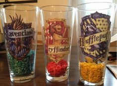 """Harry Potter classroom - House cup - bigger cups? and actual """"jewels"""""""