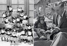 Há 114 anos, nascia o criador de muitos dos desenhos mais famosos do mundo até hoje, desdeo Mickey aoPato Donald. Walt Disneyé o nome do homem que virou mito e que faria 114 anos, caso estivesse vivo. Para celebrar a data, 05 de novembro de 1901, a Disney abriu no passado sábado umasérie de arquivos fotográficos da história da empresa desde 1932. As imagens contam diversos acontecimentos dentro da Disneylândia, como o épico concerto Fantasia (ocorrido em 1940), ou uma foto da filmagem de…