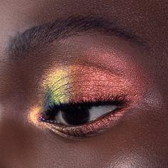 Fire Makeup, Makeup Eye Looks, Eye Makeup Art, Eyeshadow Looks, Pretty Makeup, Makeup Inspo, Makeup Inspiration, Beauty Makeup, Metallic Eye Makeup