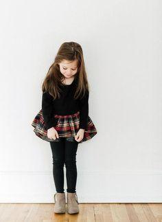 Vierra Rose Paige Peplum Sweatshirt - PRE-ORDER