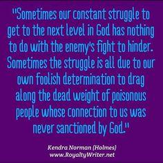 Next level God, Kendra Norman quotes