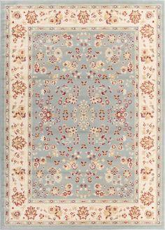Bijar Classic Blue Traditional Rug
