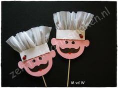 Koks - Lilly is Love Kids Crafts, Preschool Arts And Crafts, Toddler Crafts, Preschool Activities, Diy And Crafts, Paper Crafts, Diy Paper, Community Helpers Crafts, Restaurant Themes