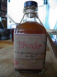 Our friend Kristine Brown from Herbal Roots Zine has put together this great tutorial for making fire cider for kids - but you don't have to be a kid.