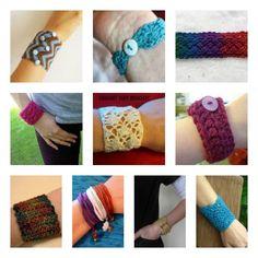 10 FREE Bracelet Crochet Patterns