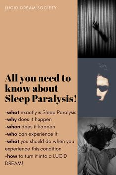 Sleep Paralysis could be pretty scary. IF you do not know what exactly it is and how to react when you are going through it. Find some valuable information, in order for you to avoid unpleasant experiences with Sleep paralysis! Lucid Dreaming Dangers, Lucid Dreaming Tips, Lucid Dreaming Techniques, Sleep Paralysis Facts, Sleep Paralysis Meaning, Sleep Paralysis Demon, Sleep Apnea, Dream Guide, Health Fitness Quotes
