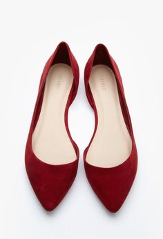 Pointed Faux Suede Flats - Womens shoes and boots | shop online | Forever 21 - 2000145662 - Forever 21 EU English