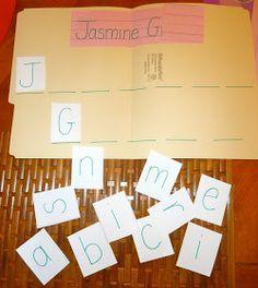 Mom to 2 Posh Lil Divas: My Name is Special - Preschool & Kindergarten Name Recognition Activities
