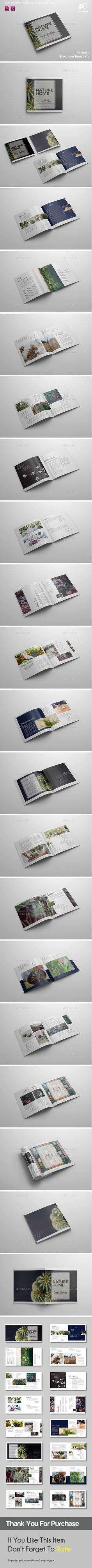 Square Brochure Vol.5  — InDesign Template #color #square • Download ➝ https://graphicriver.net/item/square-brochure-vol5/18438149?ref=pxcr