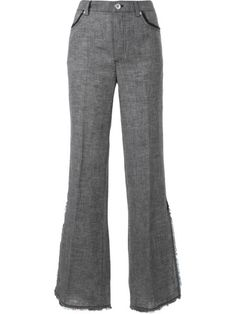 Shop Le Ciel Bleu bell-bottom pants in Restir from the world's best independent boutiques at farfetch.com. Shop 400 boutiques at one address.