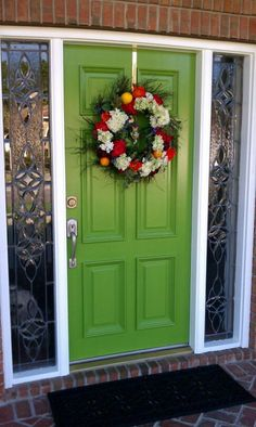I want to live in a place where I can just paint my front door ...