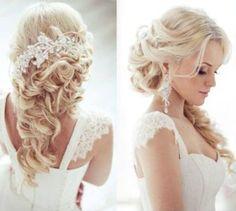 Esküvői frizura - LOVE Esküvői Ruhaszalonok