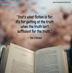 #fiction #truth #stories