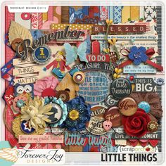Little Things by ForeverJoy Designs